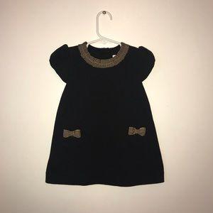 Janie & Jack black kids dress